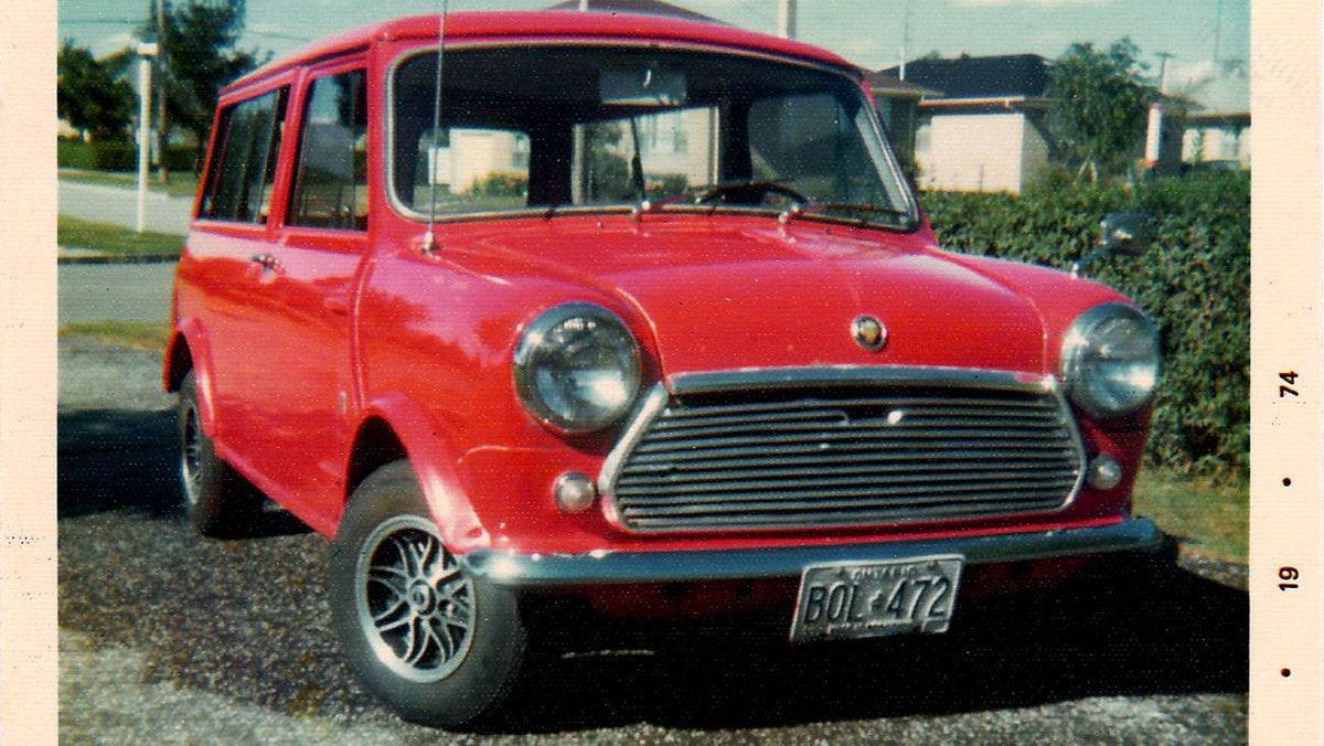 68 Mini Traveller: My first of five Minis including two race cars. It was a cool car to have as a teenager. Unfortunately, it rusted out, it would be very collectable today.