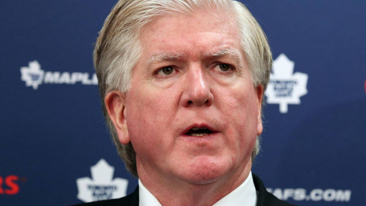 Toronto Maple Leafs Brian Burke is keeping an eye on the future with his recent move to trade right-winger Kris Versteeg to Philadelphia. CP