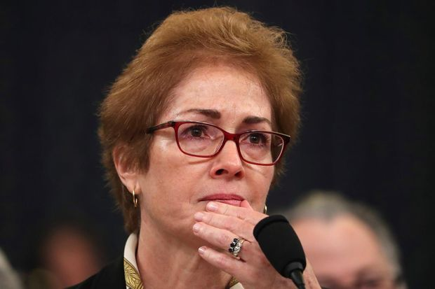 Trump accused of 'witness tampering' as tweets target Marie Yovanovitch during impeachment hearing