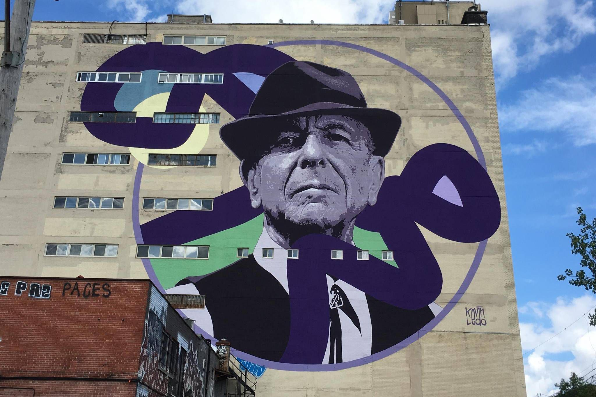 Leonard Cohen And A Tale Of Two Montreal Murals The Globe And Mail