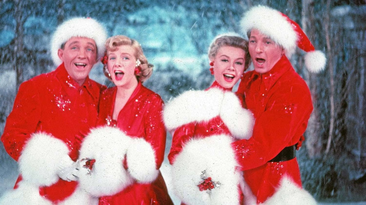 """A scene from """"White Christmas,"""" the movie based on the song written by Irving Berlin"""