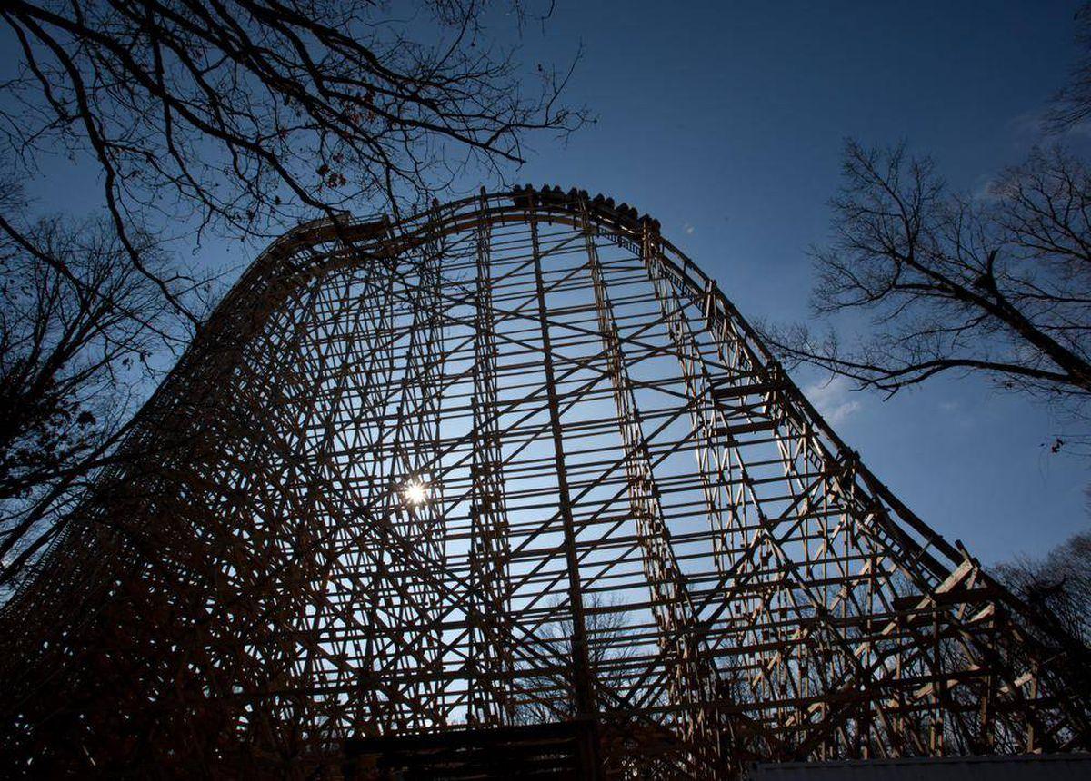 Wooden Drink Coaster World S Craziest Wooden Roller Coaster A 720 Degree