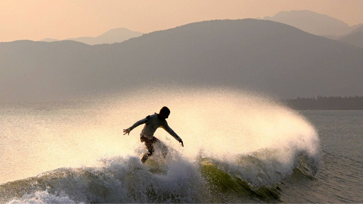 The Hainan Open is turning into a major surfing event.