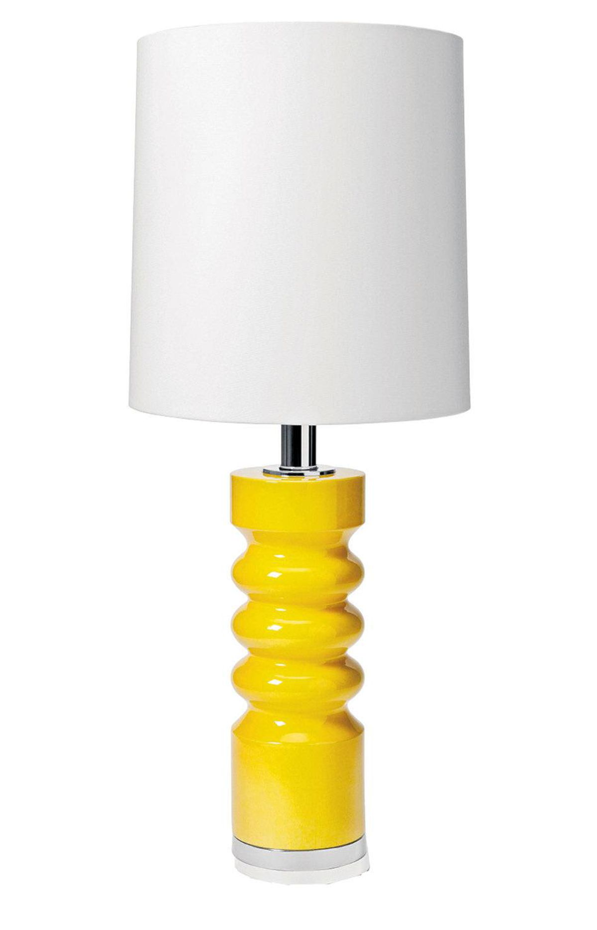 Snap up some restyled vintage lighting from blogger and designer Lia Fagan (or ask her to customize a lamp just for you). Nico Twins restyled vintage lamp, $450 per pair through Mod Pieces (www.modpieces.ca).