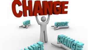 Starting change in the right place