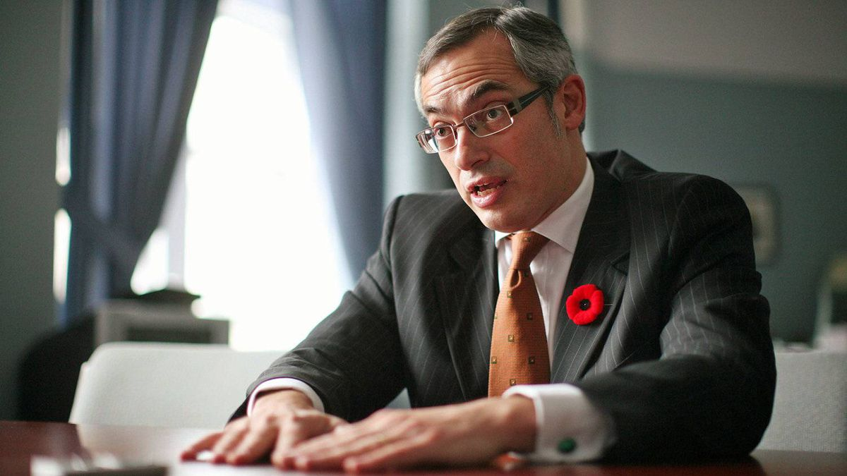 Tony Clement, shown in his Parliament Hill office on Nov. 5, 2010, was industry minister during the G8 summit in his Muskoa riding.