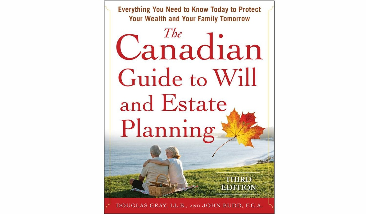 Book cover of The Canadian Guide to Will and Estate Planning by Douglas Gray and John Budd