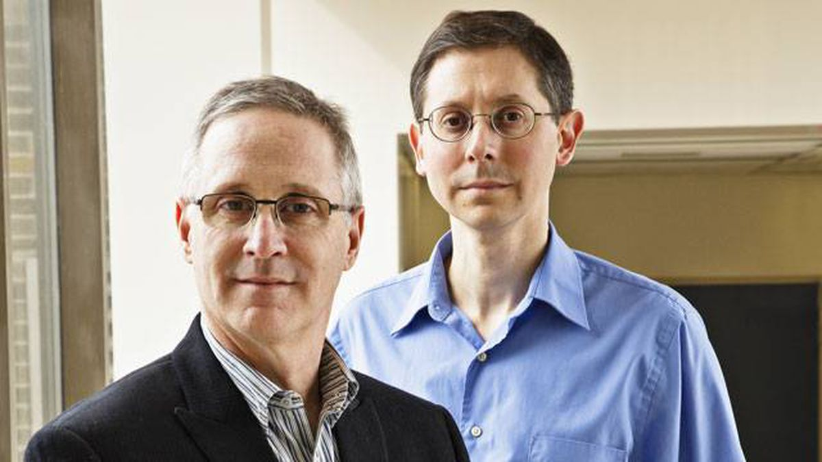 Dr. Anthony Levitt, left, and Dr. David Kreindler are part of Sunnybrook's efforts to improve treatment for youths with mental health issues and their families
