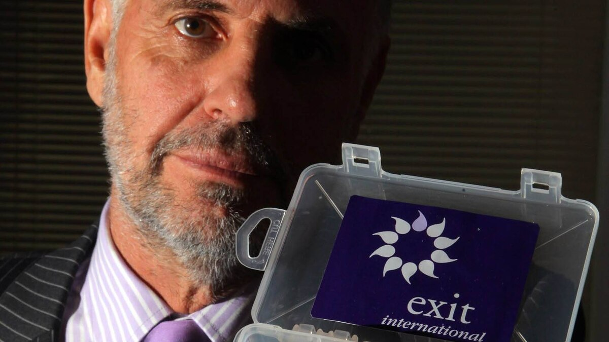 Controversial voluntary euthanasia campaigner, Dr. Philip Nitschke of the advocacy group, Exit International. Matt Cardy/Getty Images
