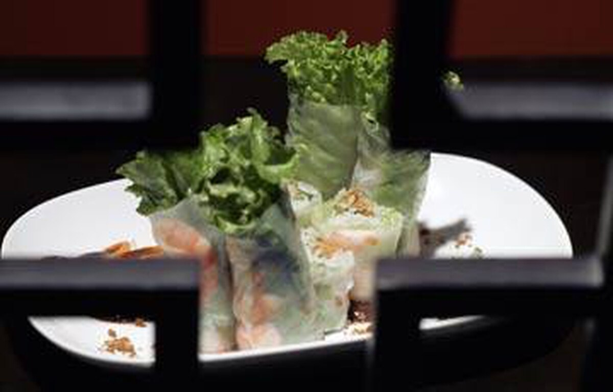Owner and executive chef Maria Huynh excels in dishes with wonderful texture, such as steamed rice-paper rolls, wrapped tight around plump prawns, leafy lettuce, crunchy cucumber and crispy slivers of deep-fried rice paper.