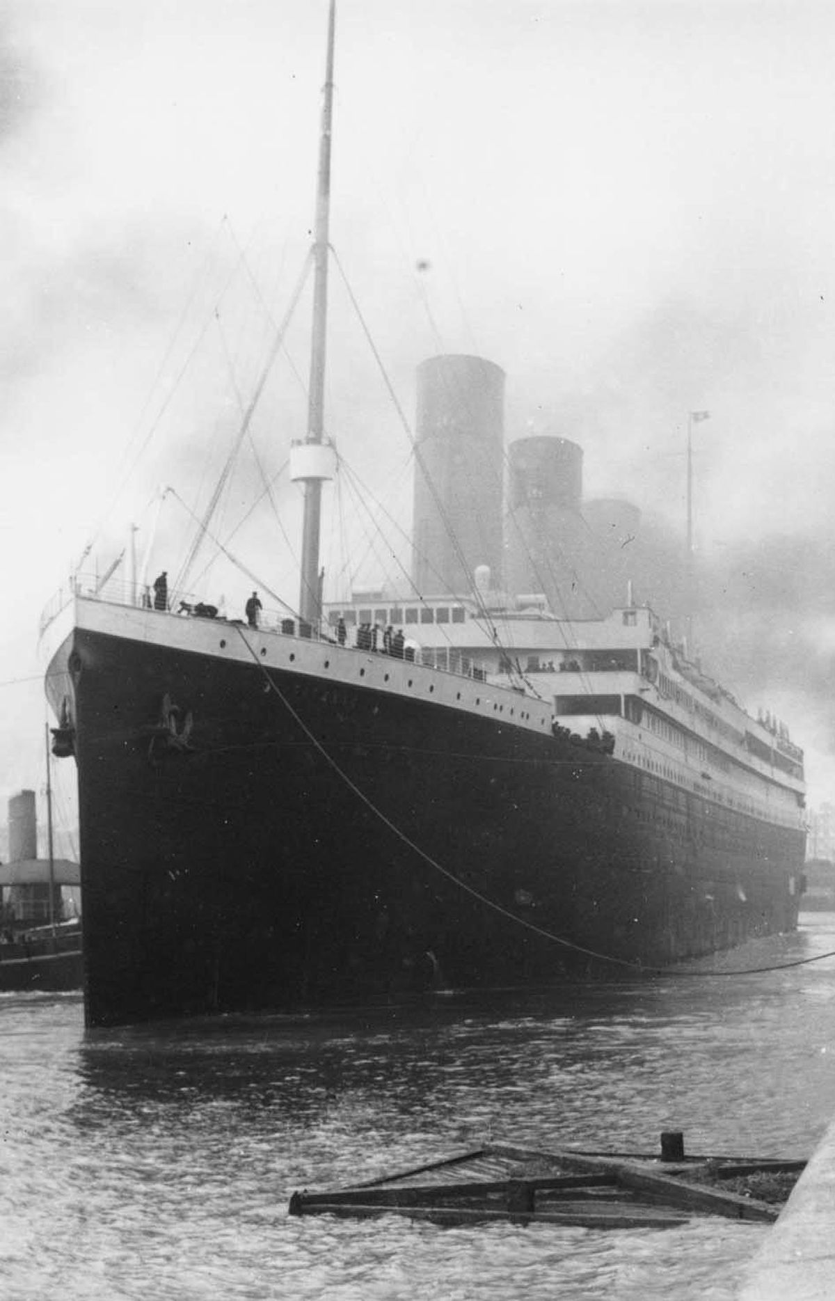 DOCUMENTARY Titanic: The Canadian Story CBC, 8 p.m. Airing to coincide with the upcoming 100th anniversary of the sinking of the RMS Titanic in the North Atlantic, this new documentary is both sombre and unsettling. Among the more than 2,200 passengers and crew were 130 men, women and children en route to Canada. Using letters and diary entries, the film relates the untold stories of several of those on board, including railway magnate Charles Hays, who made a doomful prediction before the Titanic's maiden voyage and perished at sea, and Bridget Bradley, a young Irish immigrant who barely escaped the tragedy and went on to marry a Canadian and live a full life in Gananoque, Ont.