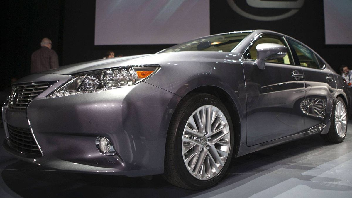 The Lexus ES350.