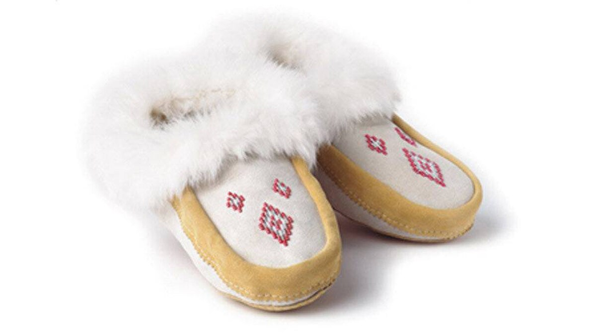 Slippers are a Christmas classic; step it up this year with sheepskin-lined moccasins from Manitobah Mukluks, an aboriginal-owned company. It's run by a Métis entrepreneur, all the designs are made by aboriginal employees in Winnipeg, where the organization partners with the Centre for Aboriginal Human Resource Development. From $129.99, manitobah.ca