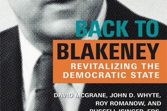 Back to Blakeney offers a reminder of the efficacy of Big Politics