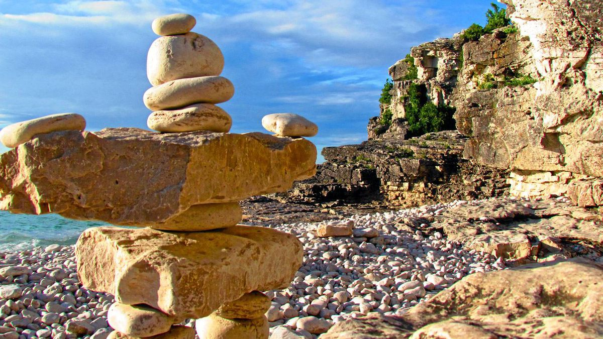 Reader Samantha Fischer writes: This was taken at Cyprus Lake in Bruce Peninsula National Park. My visit there was incredible! The landscapes, the water and just the general experience was one I will never forget. This picture is of an inukshuk on Indian Head Beach in Tobermory, Ont. Behind the inukshuk, you can catch a glimpse of crystal-clear waters and cliffs. (Editor's note: National parks staff dissuade visitors from altering the natural environment by building inukshuks, and will take them apart upon discovery.)