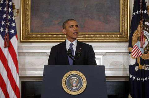Text of President Obama's statement on air strikes, airdrops in Iraq