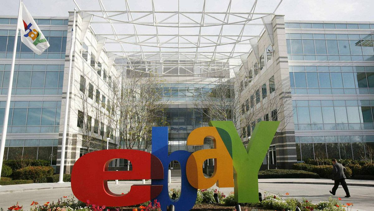 The headquarters of eBay in San Jose, Calif.