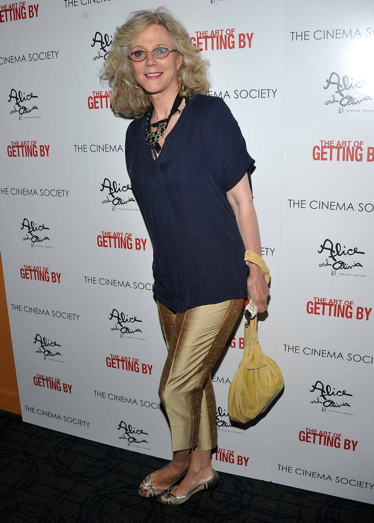 Actress Blythe Danner attends the Cinema Society with Alice+Olivia screening of The Art of Getting By at Thompson Hotel LES on June 13, 2011 in New York.