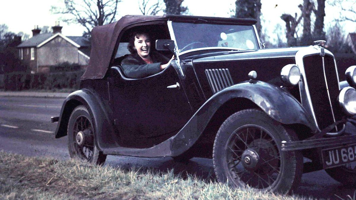 1936 Morris 8 Tourer: My first car, bought in England in 1958, when I was 21. We drove the car extensively, including a European tour to Innsbruck, Austria. The car had a 6 volt system and had to be hand cranked