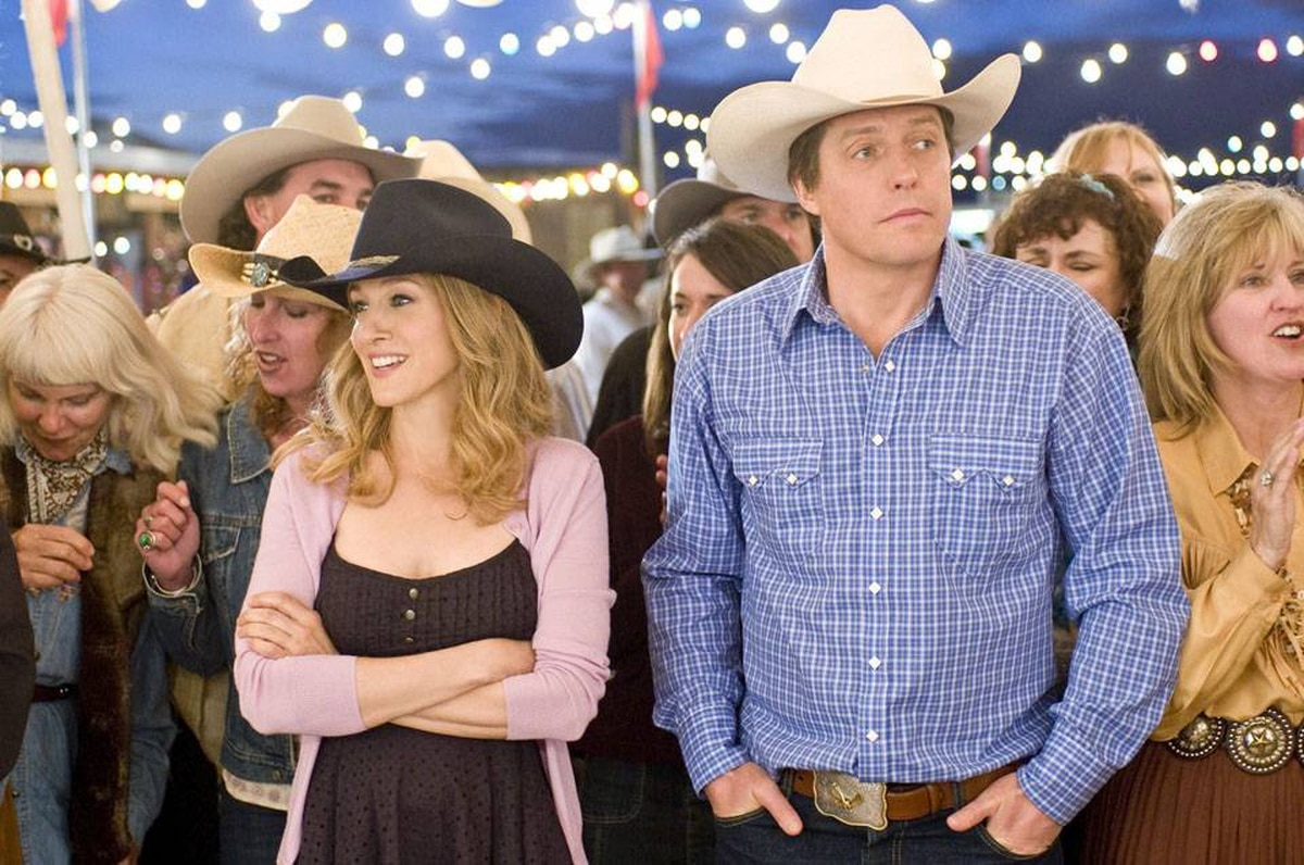 Sarah Jessica Parker and Hugh Grant: a subplot about the couple's marital difficulties is crudely sandwiched between stereotypes and slapstick.