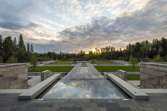11 sculpture gardens across Canada where you can view art while taking a walk