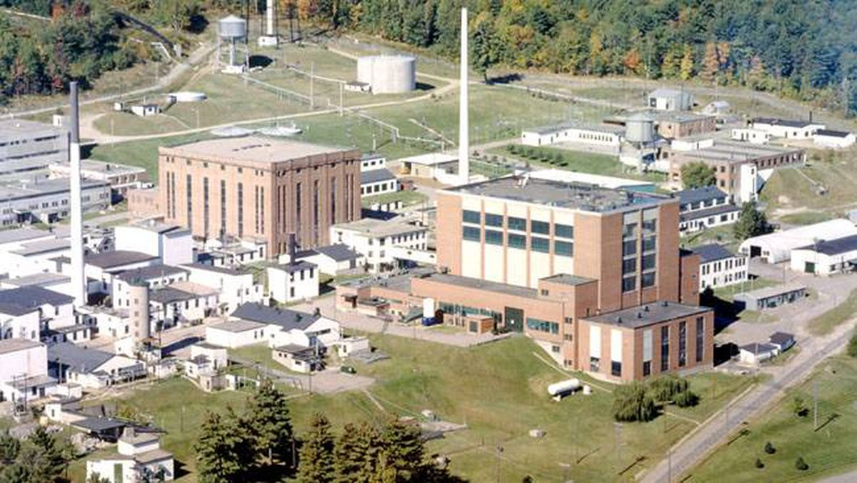 The NRX Reactor in Chalk River, Ont., is pictured in a handout file photo from 1985.