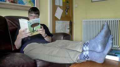 Author Ian Rankin