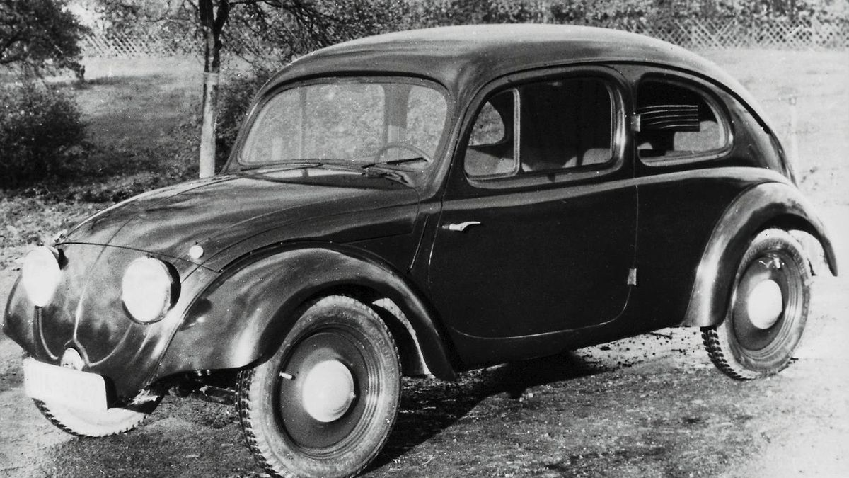 VW3, a prototype from the year 1935/36 Credit: Volkswagen