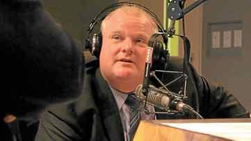 "Mayor Rob Ford and brother, Doug Ford , spoke with Newstalk 1010 host Jerry Agar Feb. 23, 2012 about their new show ""The City"" which will air every Sunday 1 - 3 p.m."