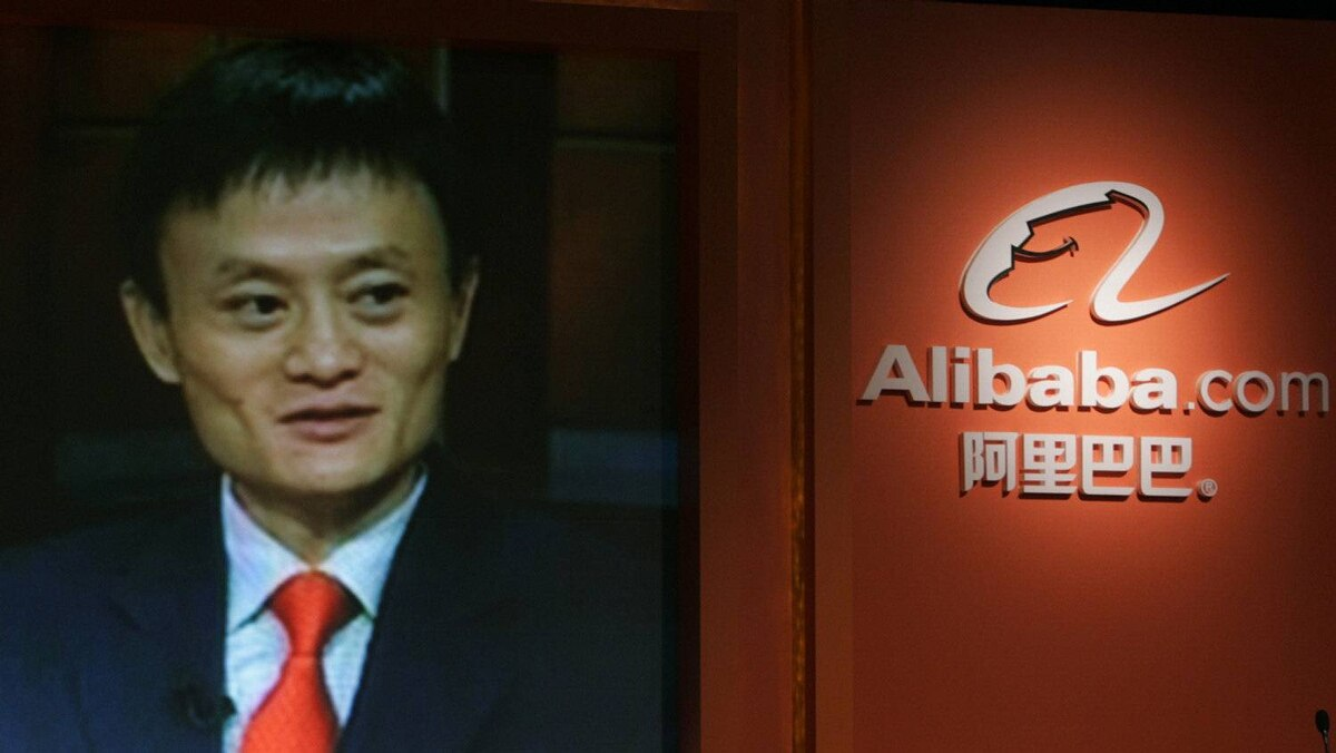 Alibaba chairman and non-executive director Jack Ma participates in a teleconference in Hong Kong in this Oct. 22, 2007 file photo.