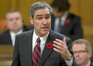 Liberal Leader Michael Ignatieff criticizes the government on H1N1 during Question Period in the House of Commons on Tuesday November 3, 2009.