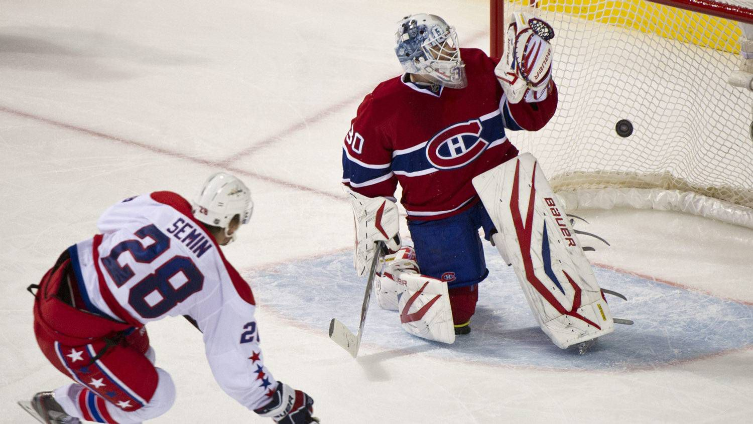 fa6bb35e1c6 Habs shut down by Caps - The Globe and Mail