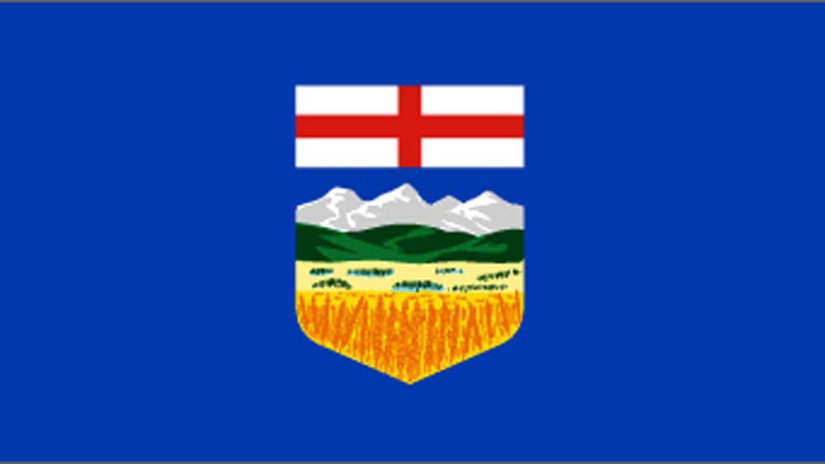 Alberta?s provincial flag