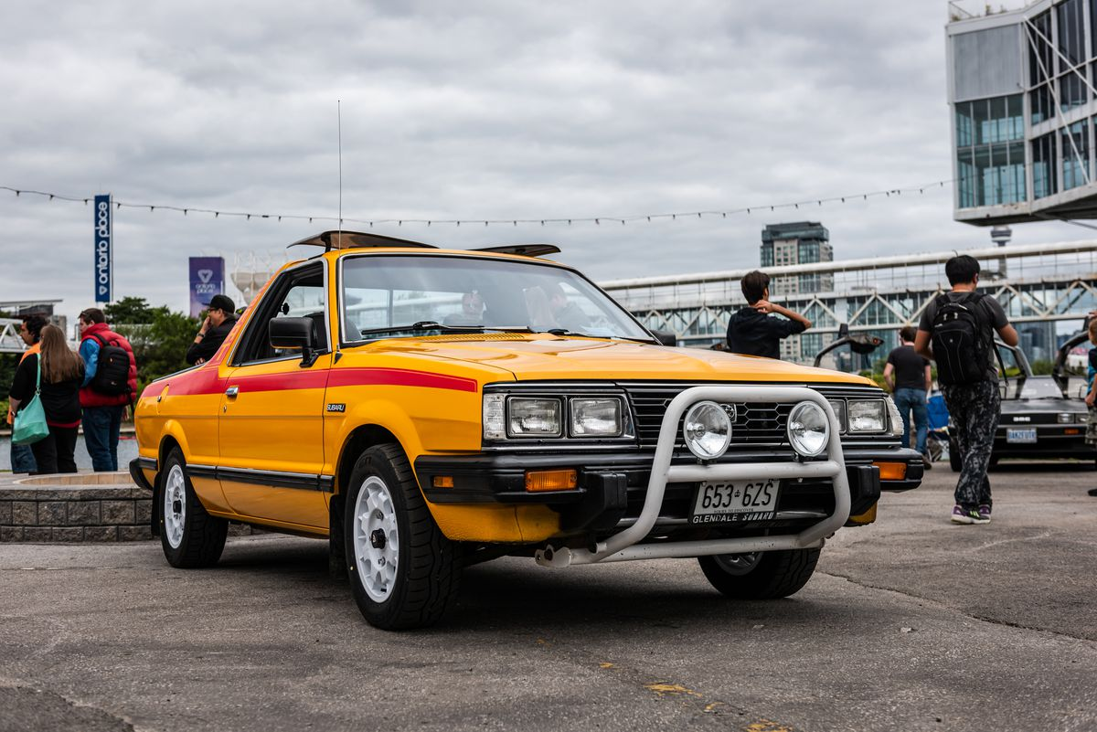 From drab to rad: Forgotten cars of the eighties and nineties get a chance to shine at Toronto auto show