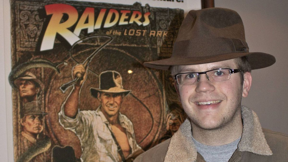 Fusenet co-founder and adventure film buff Ryan van Barneveld sports the hat worn by Harrison Ford in the 1984 film Indiana Jones and The Temple of Doom that he bought at an auction for $9.600.