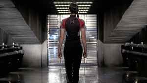 "Jennifer Lawrence as Katniss Everdeen in ""The Hunger Games"""