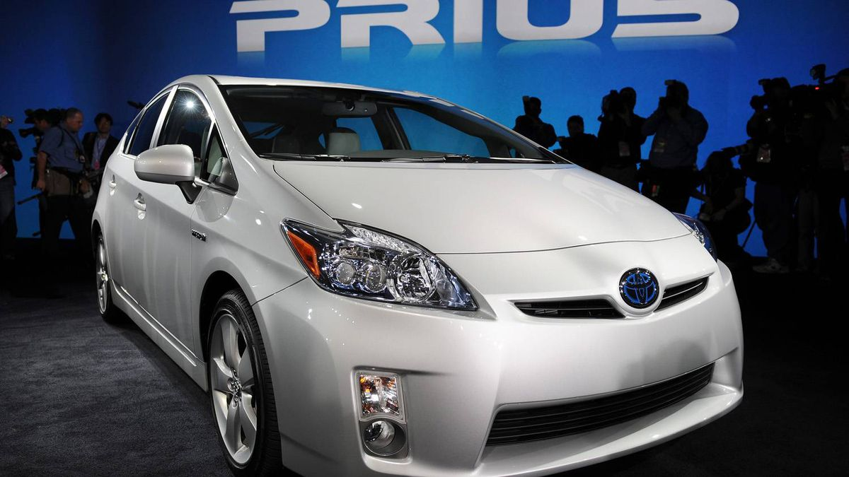 The 2010 Toyota Prius hybrid