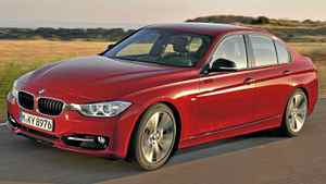 The new 2012 BMW 3 Series Sedan, Sport Line