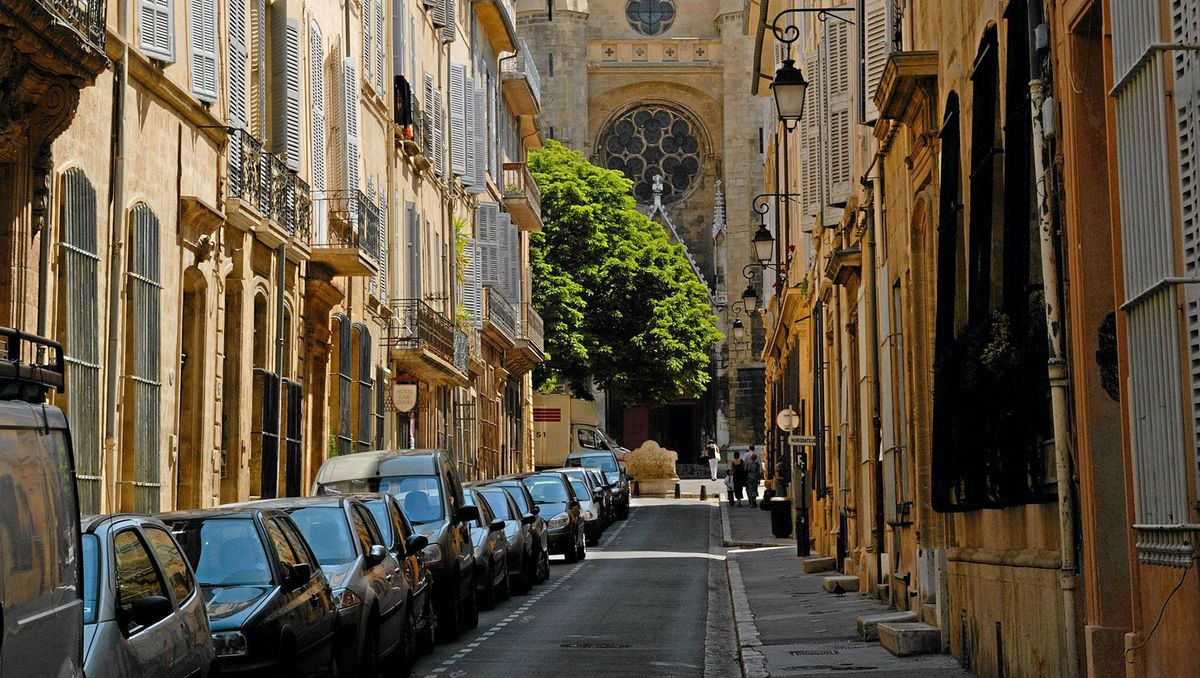 Aix-en-Provence in southern France
