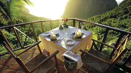Ladera Resort in St. Lucia.