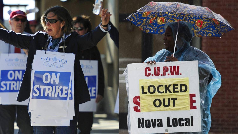 Ottawa frets on airline strike, not so much on postal brawl - The
