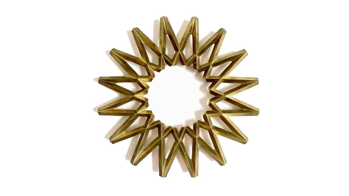 Her cooking is top-notch, so why not give her a trivet to match? Saikai brass trivet, $110 at Provide, providehome.com.