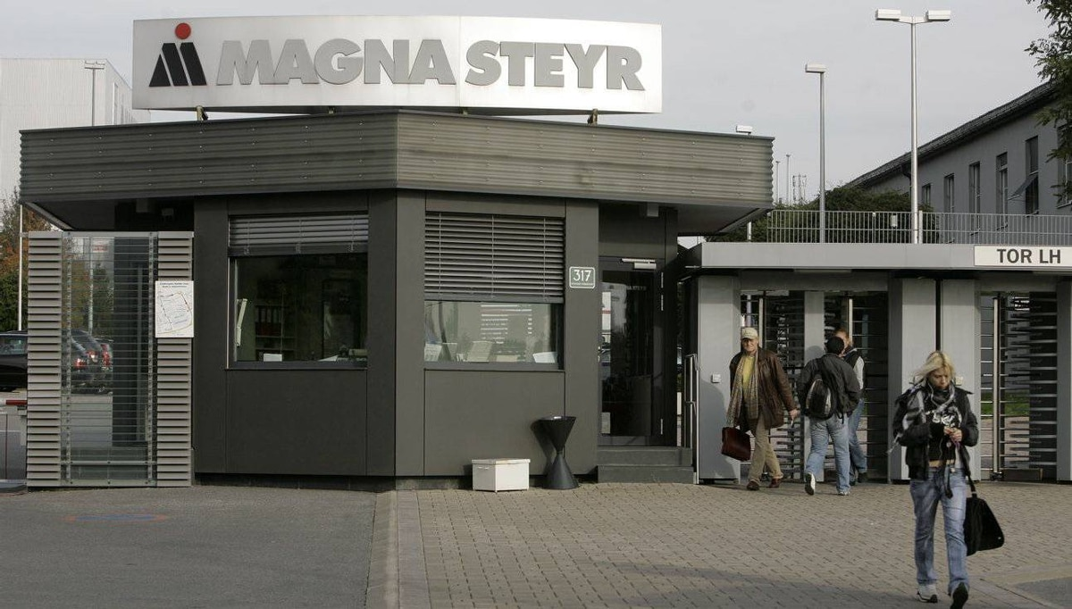 The Magna Steyr factory in Graz, Austria. MI Developments rents office and factory properties to Magna.