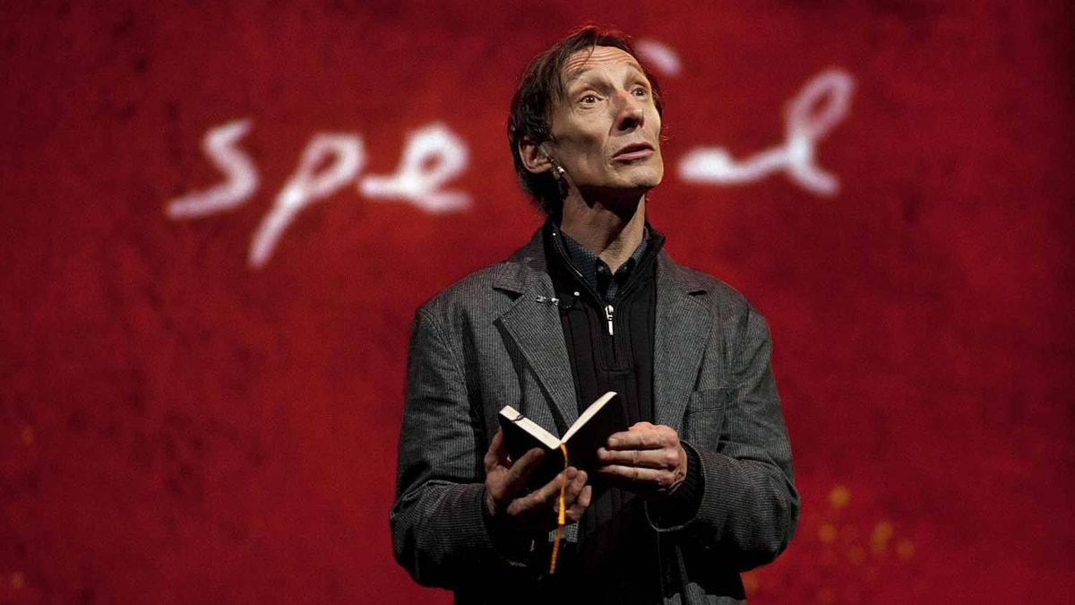 "Julian Richings in ""I Send You this Cadmium Red"""