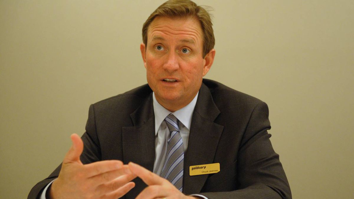 Goldcorp CEO Chuck Jeannes