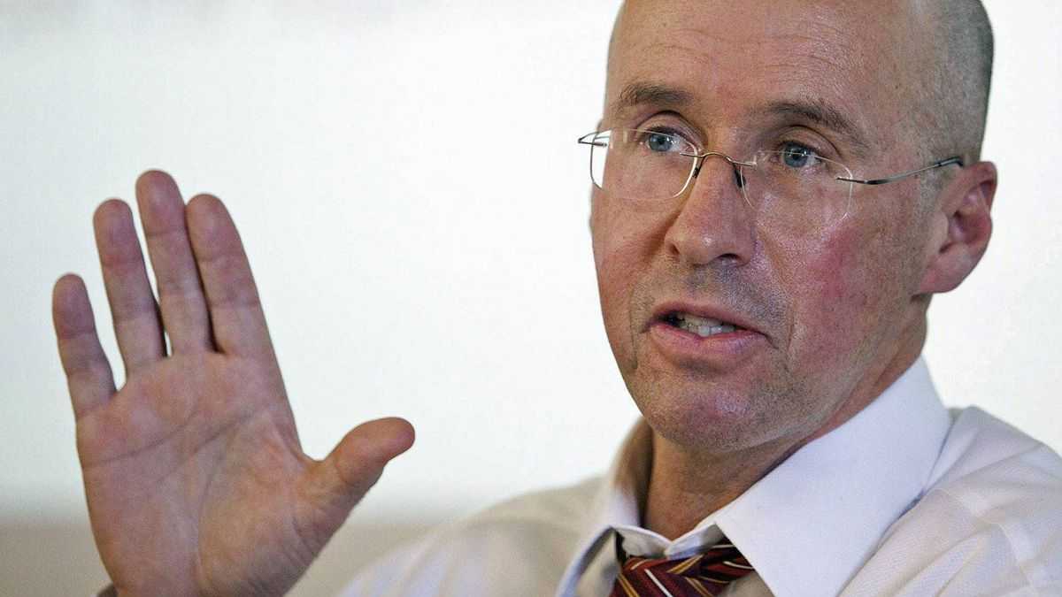 Parliamentary Budget Officer Kevin Page takes questions at a technical briefing in Ottawa on Feb. 18, 2010.