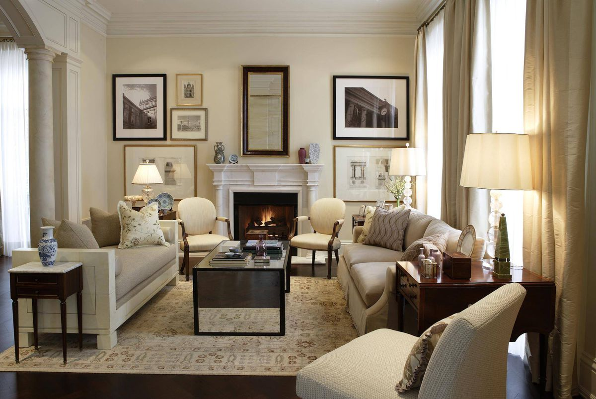 In praise of beige it 39 s time to embrace our love of decorating with this 39 bland 39 hue the for American living room designs