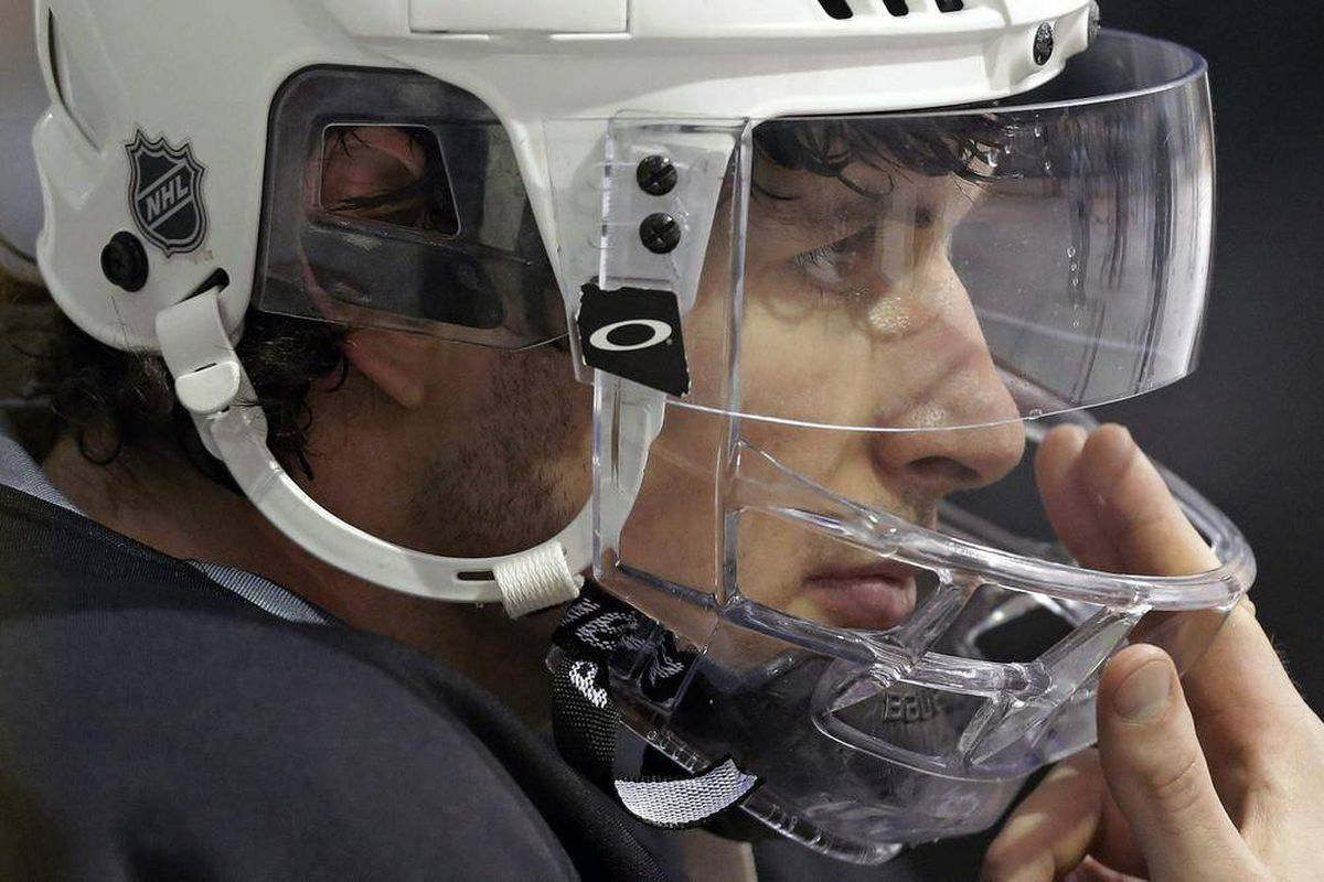 The inside story of Crosby's gruesome facial injury - The