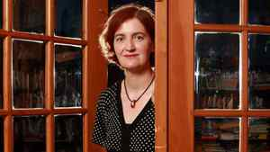 Emma Donoghue in London (the one without crowds and traffic).
