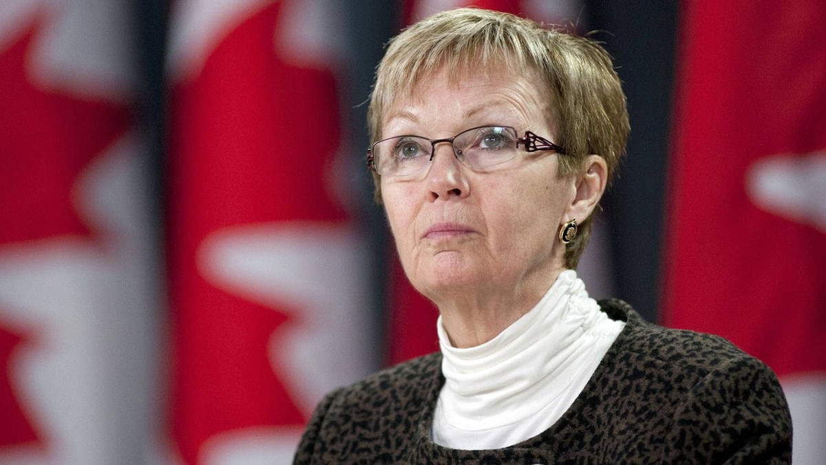 Interim NDP Leader Nycole Turmel speaks during an Ottawa news conference on Dec. 15, 2011.